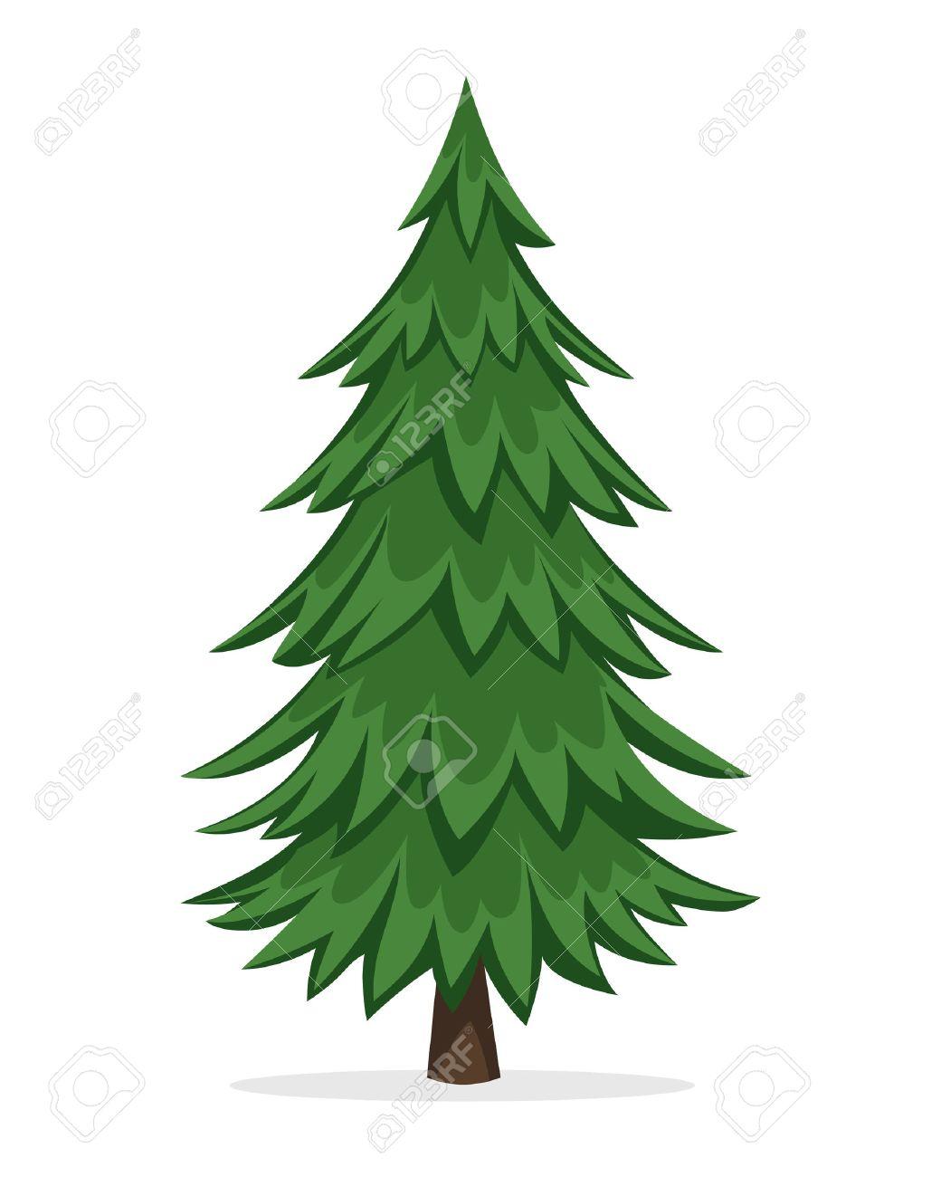 1040x1300 Cartoon Pine Trees Free Download Clip Art