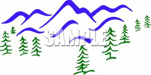 300x149 Tree Mountain Clipart Amp Tree Mountain Clip Art Images