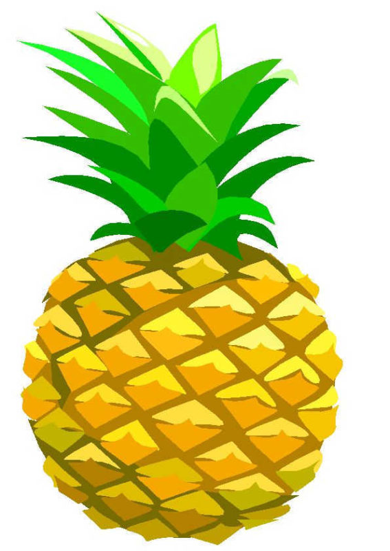 Pineapple Clipart at GetDrawings | Free download