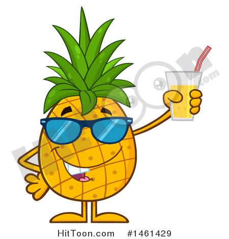 450x470 Pineapple Clipart