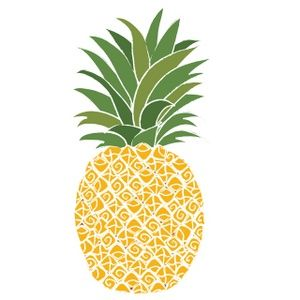 300x300 Pineapple Clipart Image