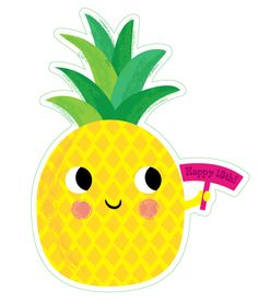 236x276 Pineapple Cutie Cute Digital Clipart, Pineapple Clip Art, Girly