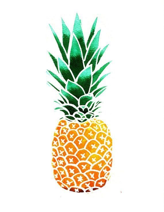 570x738 Pineapple Clipart Free Pineapple Clipart Marieluney On Palms
