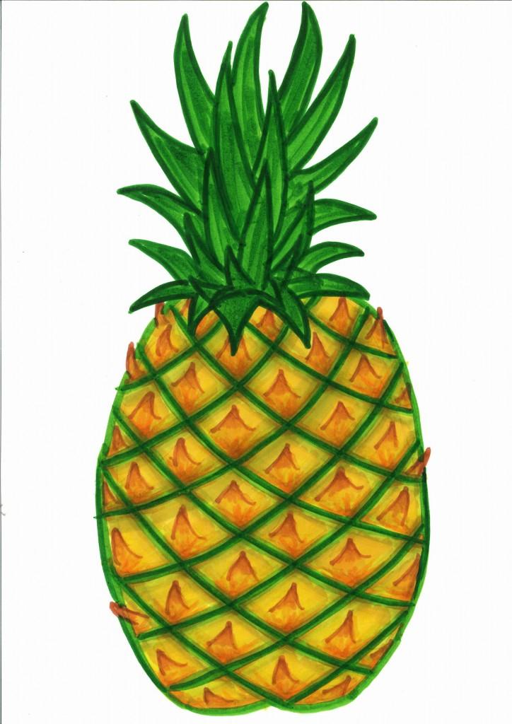 724x1024 Pineapple Clipart Pineapple Clipart Clip Art For Students