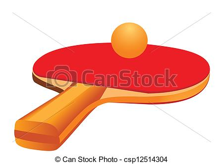 450x331 Racket For Table Tennis. Illustration Of Tennis Racket