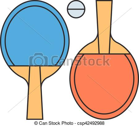 450x409 Table Tennis Ping Pong Vector Illustration. Table Tennis Vector