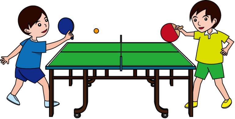 768x388 Table Tennis Clipart Image Of Playing Table Tennis Clipart 8398