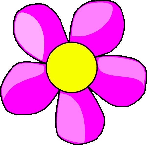 600x594 Flower Clip Art 18. Pink Clipart Panda