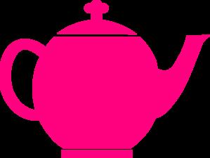 299x225 Pink Teapot Clip Art