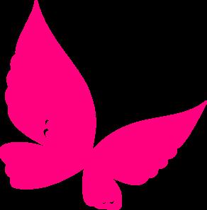 292x297 Butterfly Pink Clip Art Clipart Panda