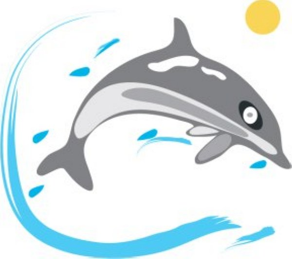 600x533 110 Dolphin Clipart Clipart Fans