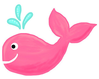 340x270 Pink Whale Clipart Amp Pink Whale Clip Art Images