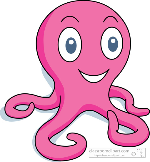 510x550 Sea Life Clipart Pink Thing Free Collection Download And Share