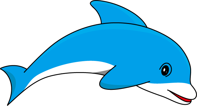 633x341 Dolphin Clip Art With Transparent Background