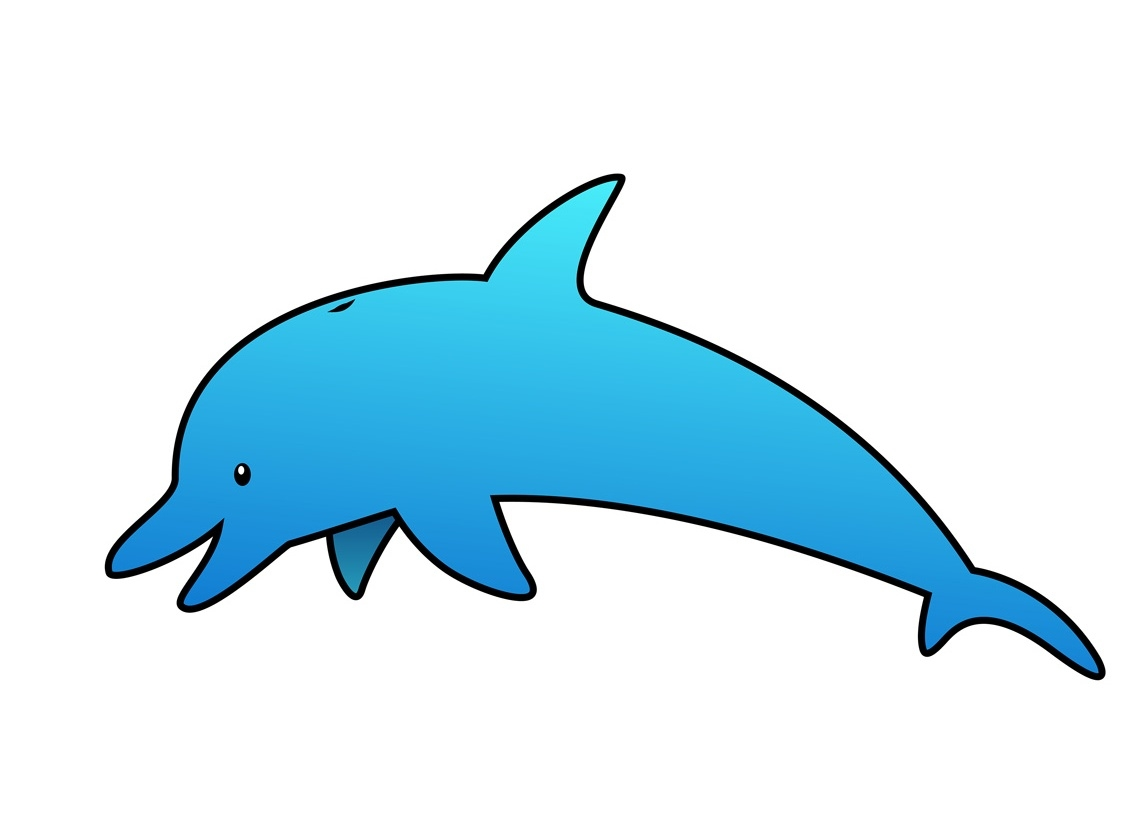 1140x834 Awesome Dolphin Clipart Design