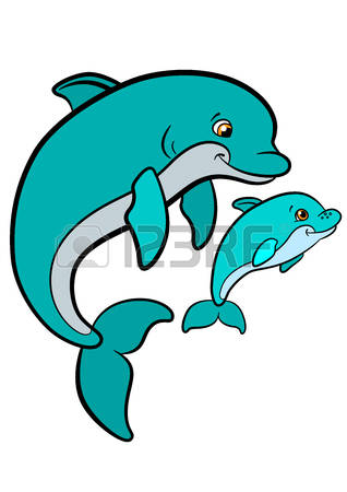 318x450 Baby Dolphin Cliparts Free Download Clip Art