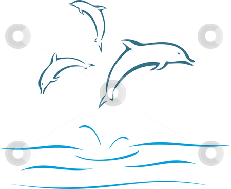 450x368 Bottlenose Dolphin Clipart Dolphin Swimming