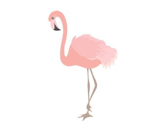 340x270 Flamingo Clipart Digital Vector Flamingo Bird Exotic