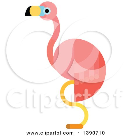 450x470 Royalty Free (Rf) Pink Flamingo Clipart, Illustrations, Vector