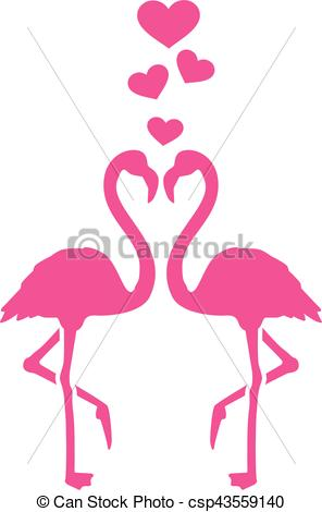 296x470 Two Flamingos In Love.