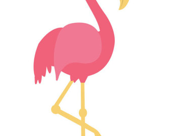 340x270 Watercolor Flamingo Clip Art