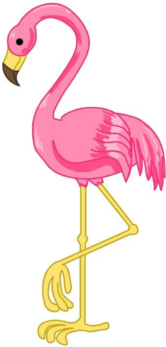 340x709 Pink Flamingo Clip Art Pink Flamingo Httpwwwflamingosandmore