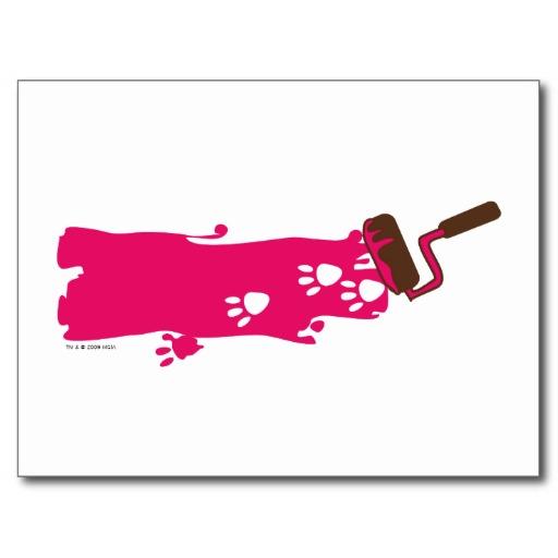 512x512 Pink Panther Cartoon Clipart