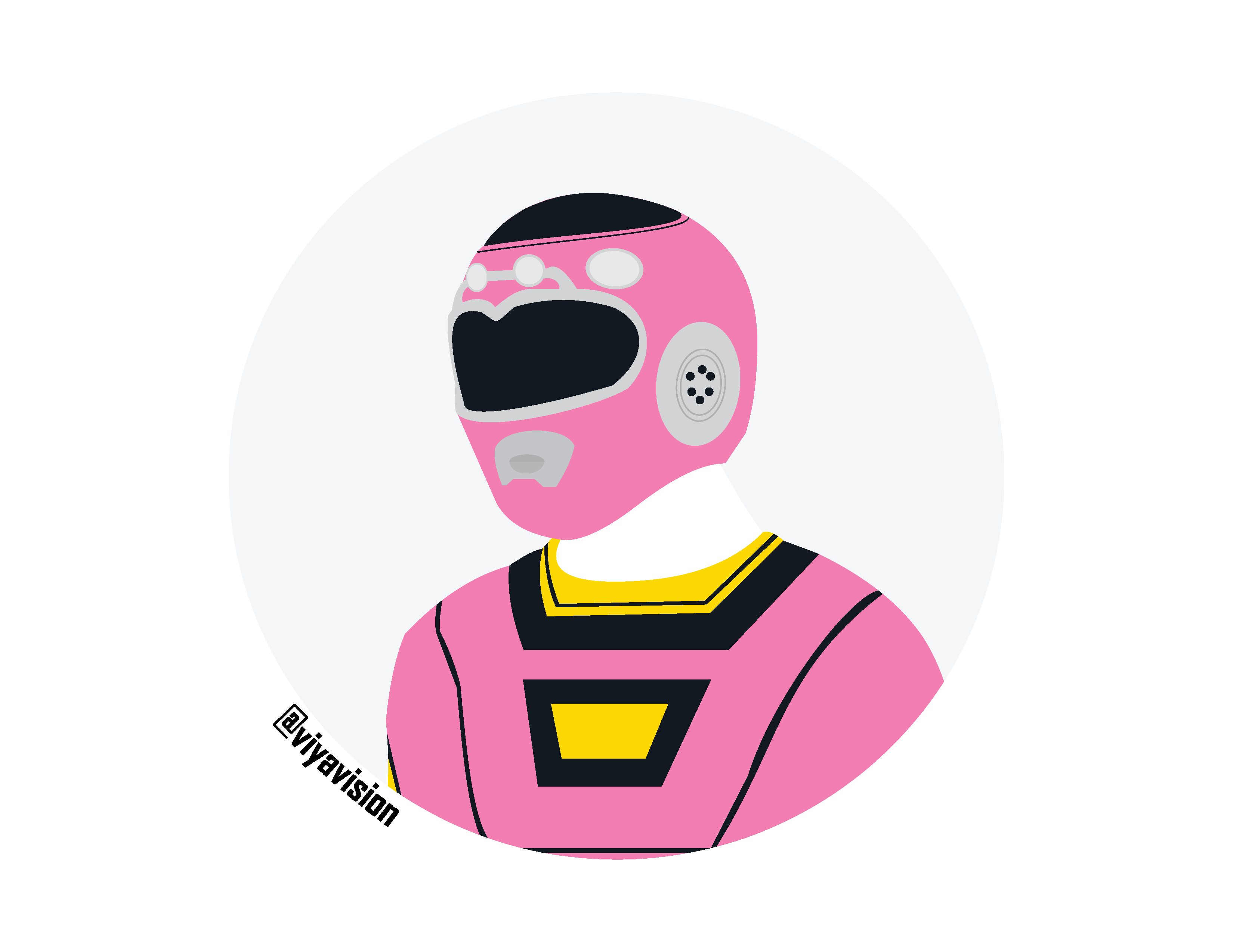 3300x2550 Pink Ranger (Power Rangers Turbo) By Viyavision