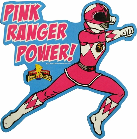 463x470 Power Rangers Pink Ranger Power Magnet