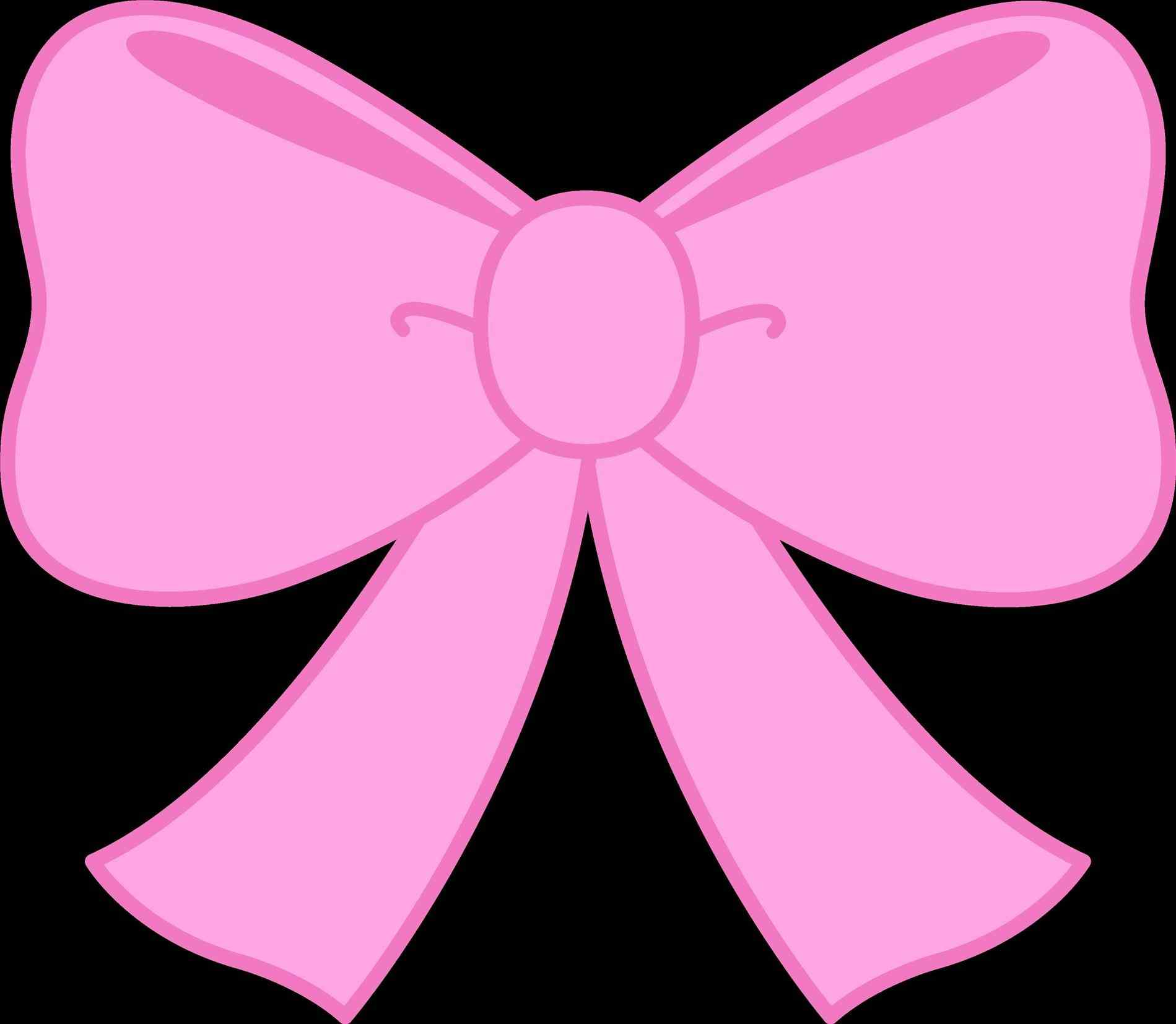 1899x1654 Pink Ribbon Bow Clip Art. Top Pink Ribbon Border Clipart With Pink