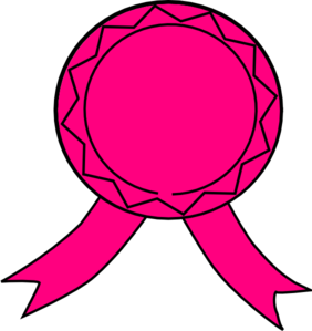 282x299 Collection Of Pink Award Ribbon Clipart High Quality, Free