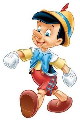 258x394 Pinocchio Clipart Walt Disney Character