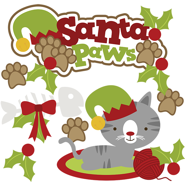 648x635 Christmas Cat Clipart Amp Look At Christmas Cat Clip Art Images