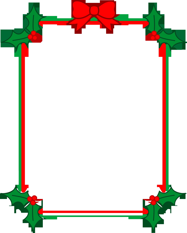 4822x6000 Christmas Clip Art Borders Free Download Clipart Panda