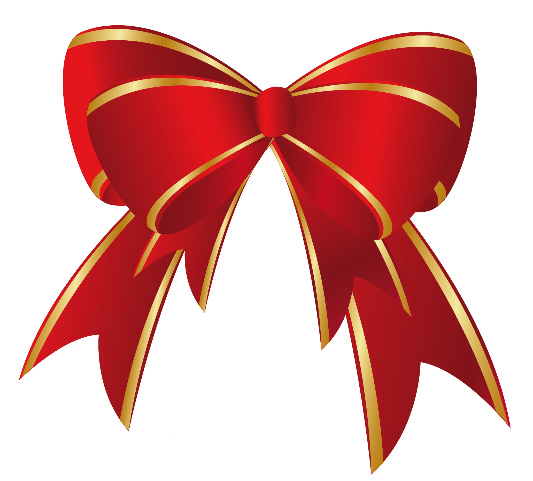 2063x1859 Opulent Ideas Christmas Bow Clipart Red Gold Png Clip Art