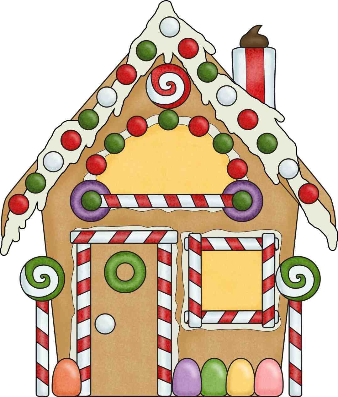 1078x1264 The Images Collection Of Paper Mache Decorative Gingerbread U Clip