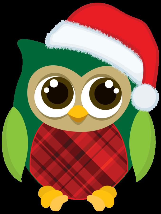 678x900 Christmas Owl Clipart Christmas Owls Minus Christmas Clip