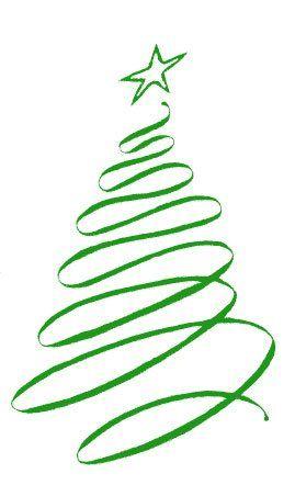 269x442 Christmas Ribbon Clip Art And Holidays, Christmas Tree