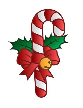 285x369 Christmas Candy Cane Clip Art Clip Art