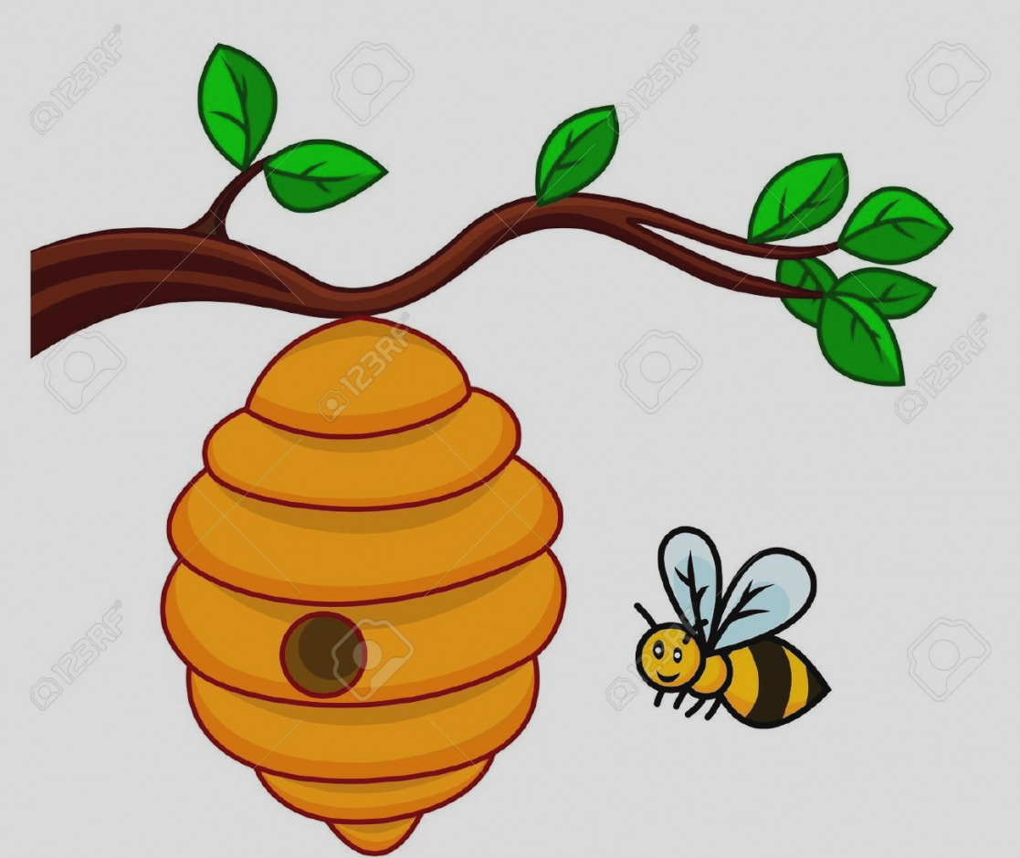 1117x940 Images Of Bee Hive Clip Art Beehive On A Tree Clipart Clipartsgram