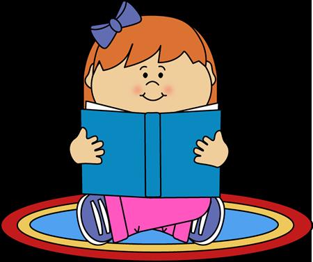450x377 Girl Reading Clipart Girl Reading On A Rug Clip Art Girl