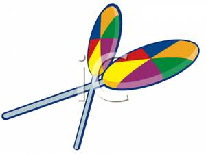 300x225 Lollipop Clipart Pinwheel