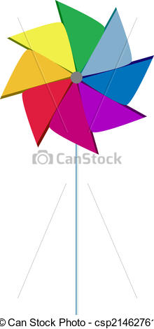 220x470 Pinwheel Colorful Like Rainbow Colorful Pinwheel With Clip