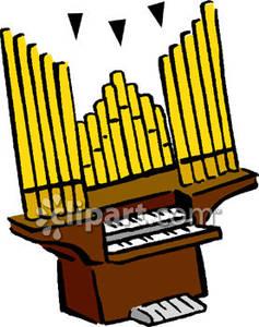 237x300 Church Pipe Organ Clipart