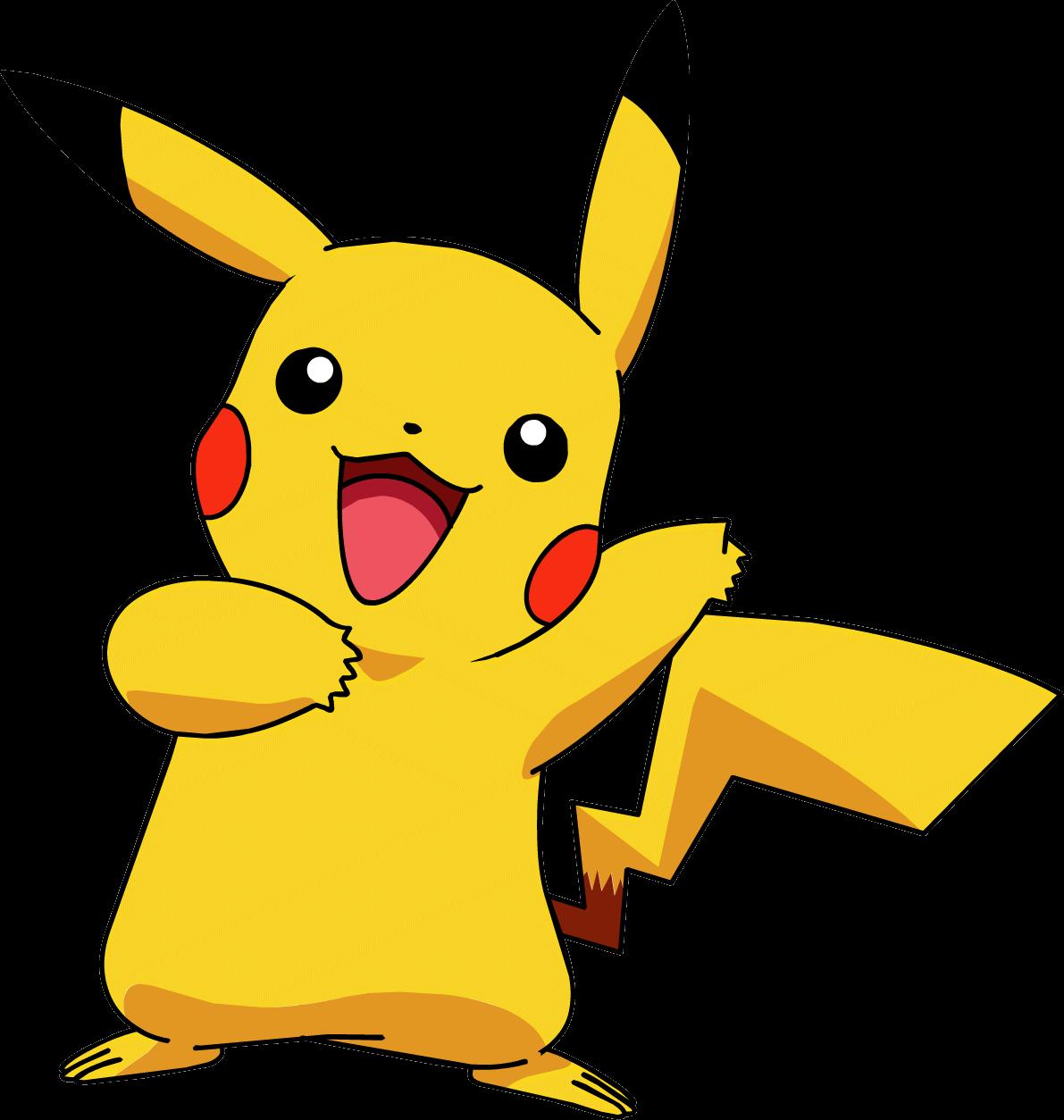 1191x1254 Pikachu Pokemon Transparent Png