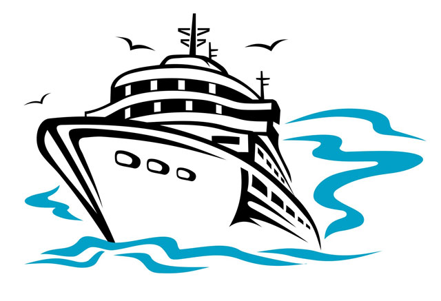 640x437 Clip Art Cruise Ship Free Clipart Collection
