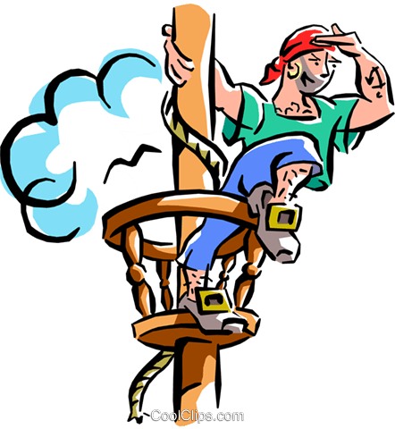 442x480 Pirate Ship Royalty Free Vector Clip Art Illustration Cart1894