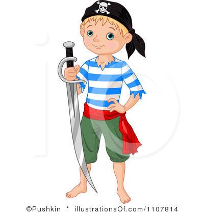 400x420 Kid Pirate Clipart