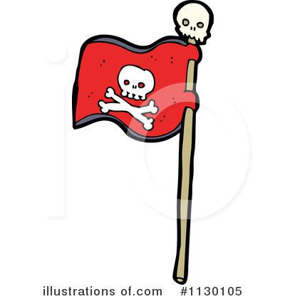 400x420 Pirate Flag Clipart