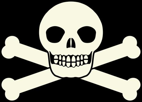 500x358 Traditional Pirates Flag Skull Vector Clip Art Public Domain Vectors